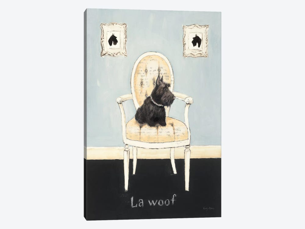 La Woof by Emily Adams 1-piece Canvas Art
