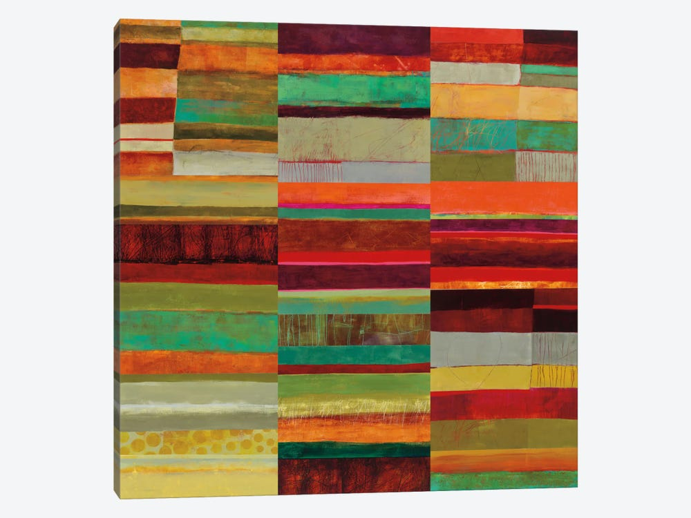 Fields Of Color IX by Jane Davies 1-piece Canvas Wall Art