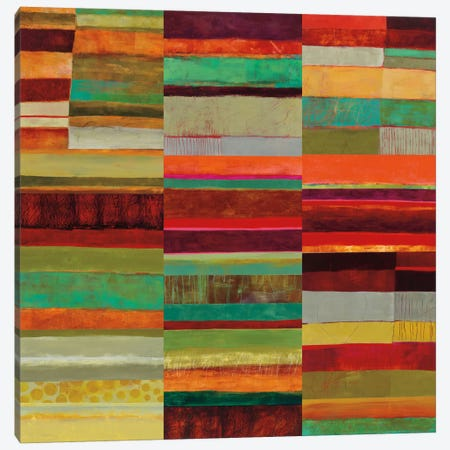 Fields Of Color IX Canvas Print #WAC5320} by Jane Davies Canvas Print