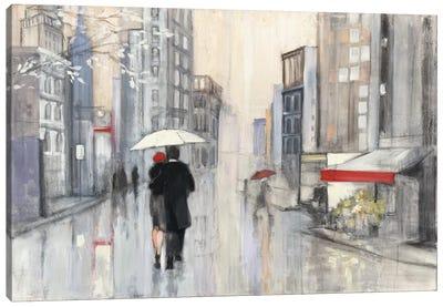 Spring Rain, New York Canvas Art Print