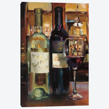 A Reflection Of Wine II Canvas Print #WAC5339} by Marilyn Hageman Canvas Art