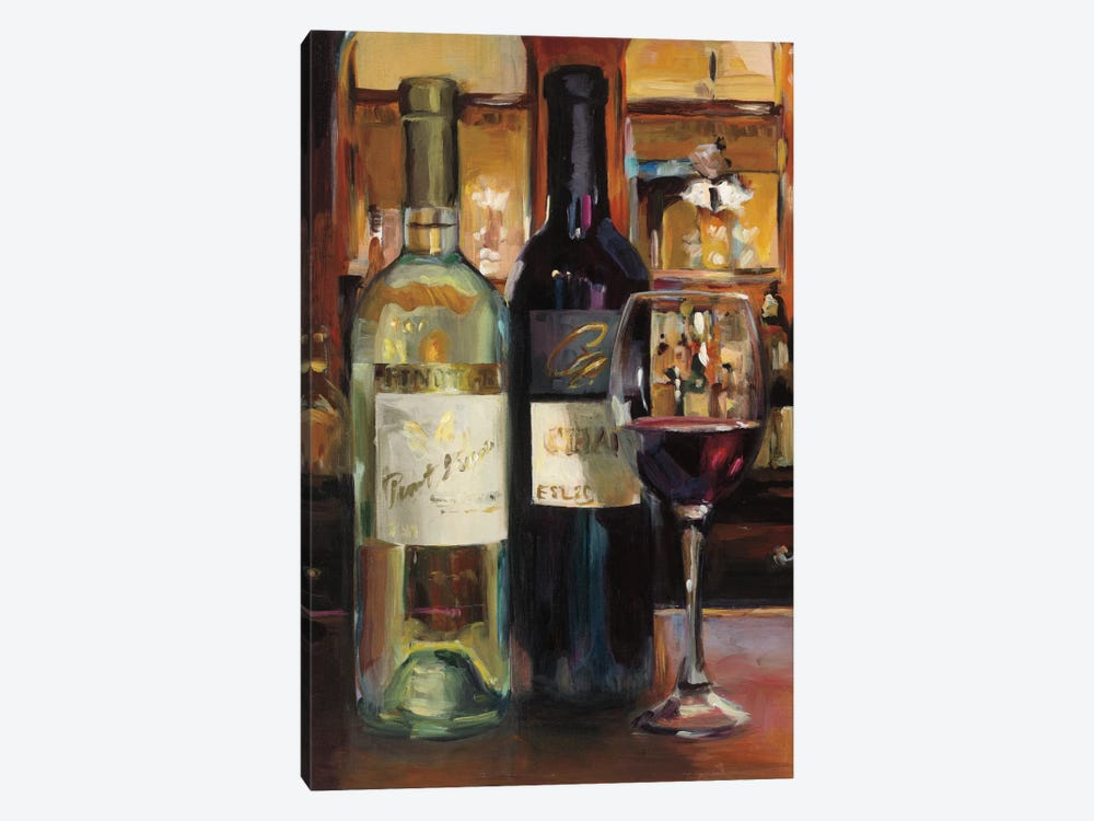 A Reflection Of Wine II 1-piece Canvas Wall Art