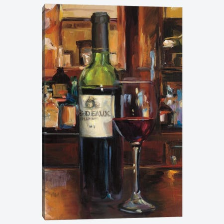 A Reflection Of Wine III Canvas Print #WAC5340} by Marilyn Hageman Art Print