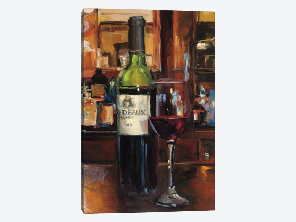 A Reflection Of Wine III by Marilyn Hageman 1-piece Canvas Artwork