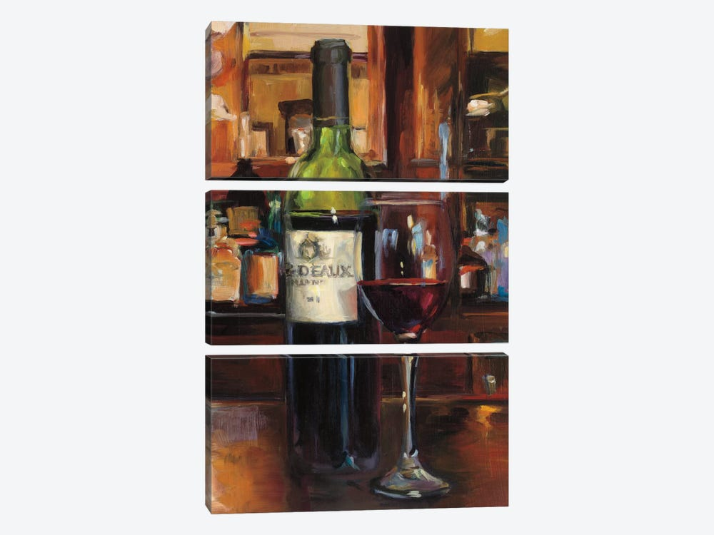 A Reflection Of Wine III by Marilyn Hageman 3-piece Canvas Art