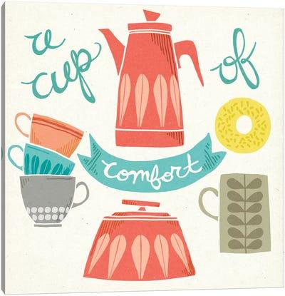 A Cup Of Comfort Canvas Art Print