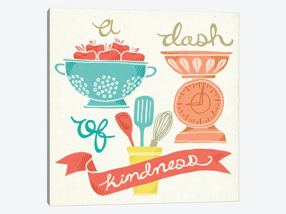 A Dash Of Kindness by Mary Urban 1-piece Canvas Art