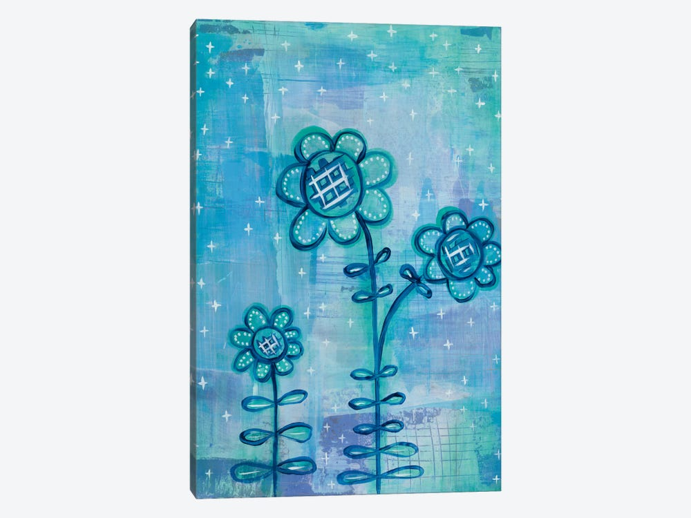 Magical Flowers I by Melissa Averinos 1-piece Canvas Art