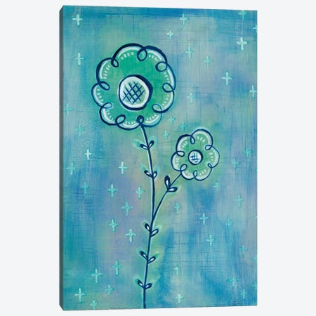 Magical Flowers II Canvas Print #WAC5354} by Melissa Averinos Art Print