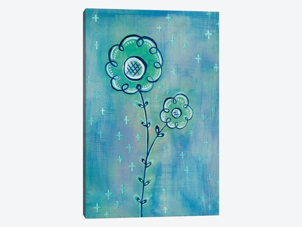 Magical Flowers II by Melissa Averinos 1-piece Canvas Art Print