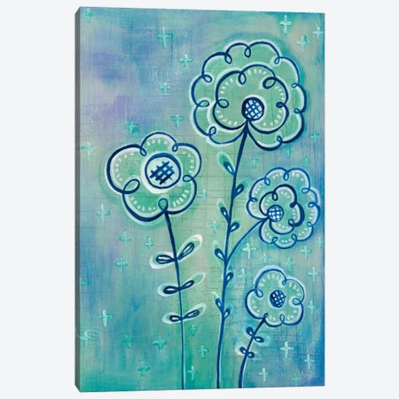 Magical Flowers III Canvas Print #WAC5355} by Melissa Averinos Canvas Print