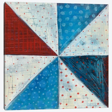Modern Americana IV Canvas Print #WAC5360} by Melissa Averinos Canvas Print