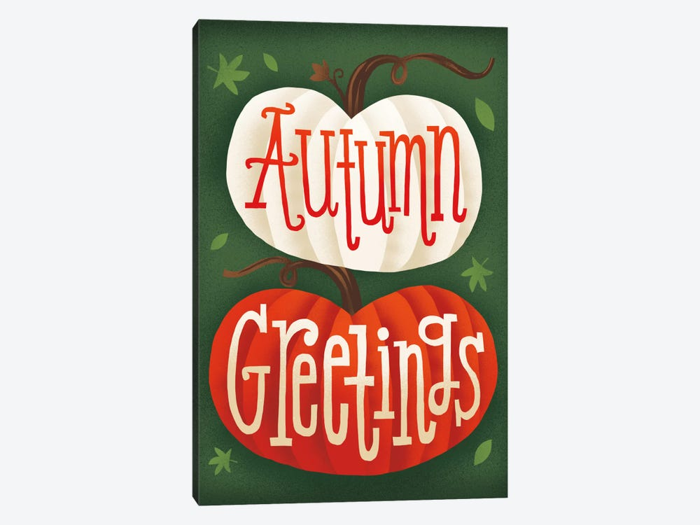 Autumn Greetings by Michael Mullan 1-piece Canvas Artwork