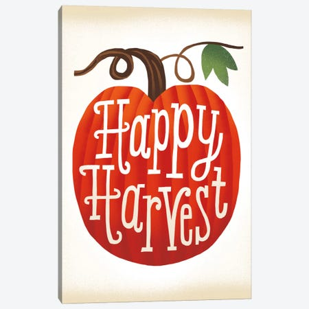 Happy Harvest Canvas Print #WAC5375} by Michael Mullan Canvas Art Print