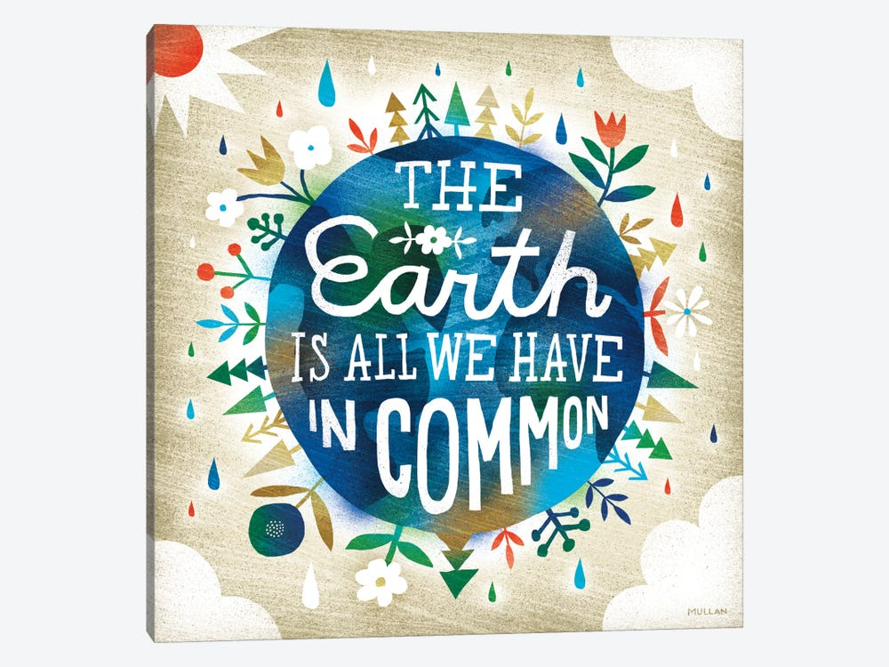 The Earth Is All We Have by Michael Mullan 1-piece Canvas Wall Art