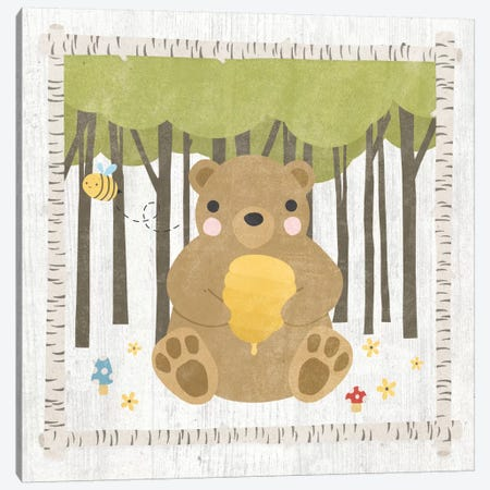 Bear Canvas Print #WAC5383} by Moira Hershey Canvas Art Print