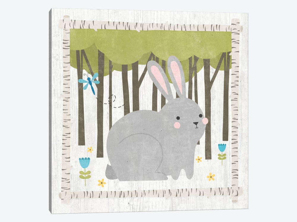 Bunny by Moira Hershey 1-piece Canvas Artwork
