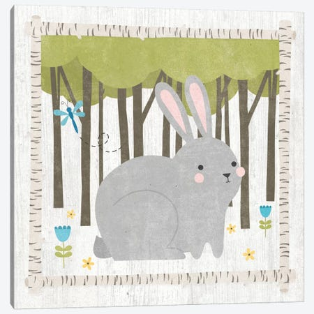 Bunny Canvas Print #WAC5384} by Moira Hershey Canvas Wall Art