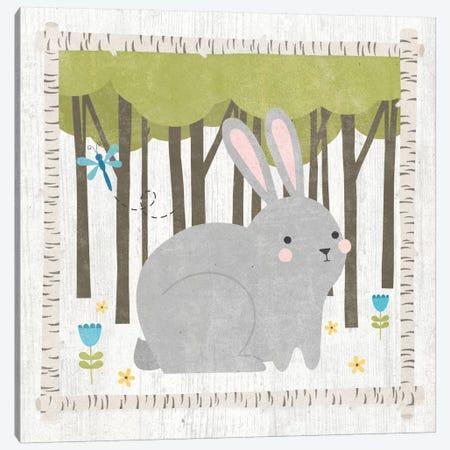 Bunny Canvas Print #WAC5384} by Moira Hershey Canvas Wall Art