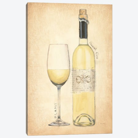 Grand Cru Blanc Canvas Print #WAC538} by Emily Adams Canvas Artwork