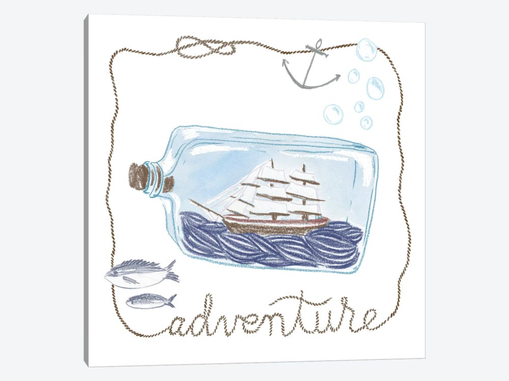 Adventure by Sara Zieve Miller 1-piece Canvas Print