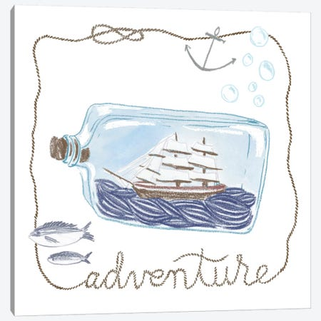 Adventure Canvas Print #WAC5396} by Sara Zieve Miller Canvas Print