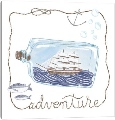 Adventure Canvas Art Print