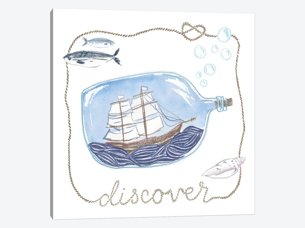 Discover by Sara Zieve Miller 1-piece Canvas Print
