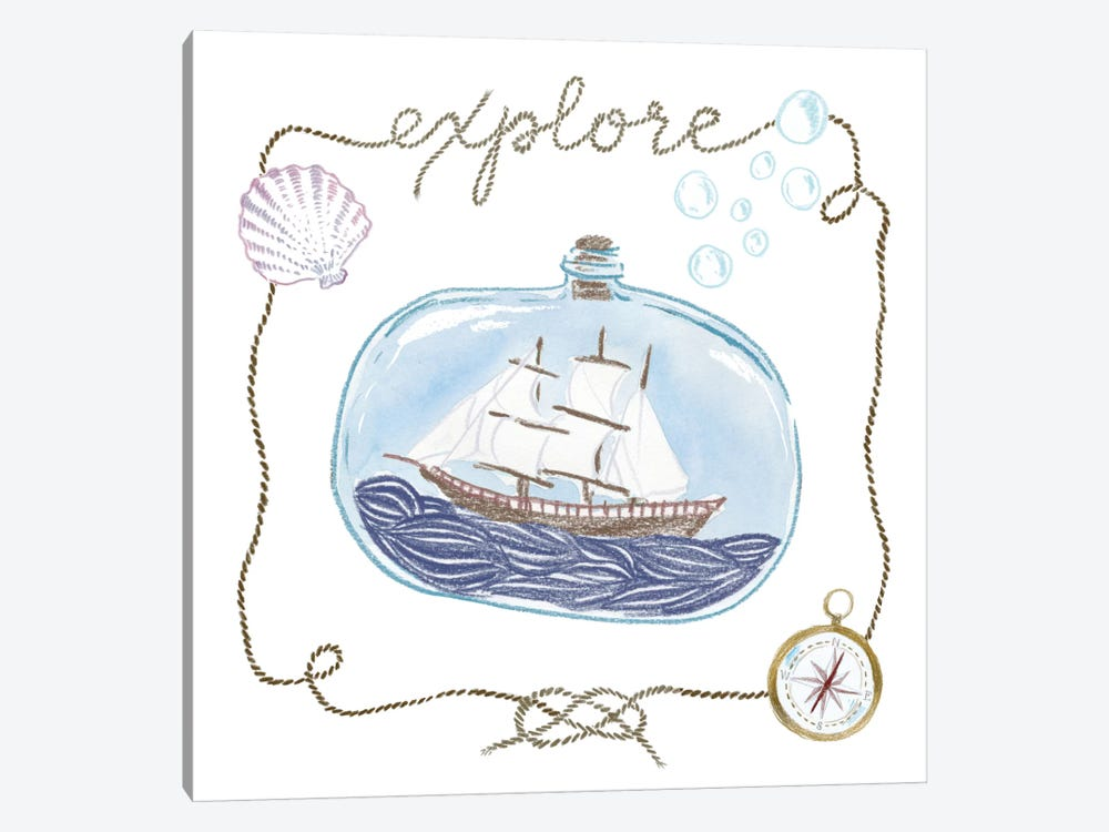 Explore by Sara Zieve Miller 1-piece Canvas Wall Art