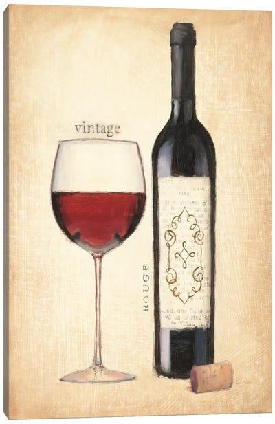 Vintage Rouge Canvas Print #WAC539