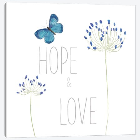 Hope And Love Canvas Print #WAC5401} by Sarah Adams Canvas Art