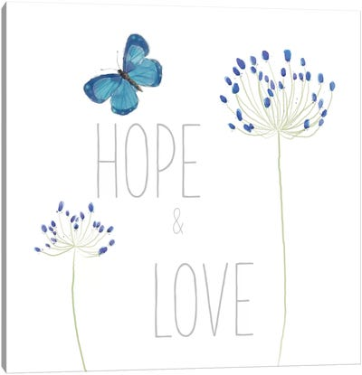 Hope And Love Canvas Art Print