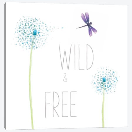 Wild And Free Canvas Print #WAC5402} by Sarah Adams Canvas Wall Art