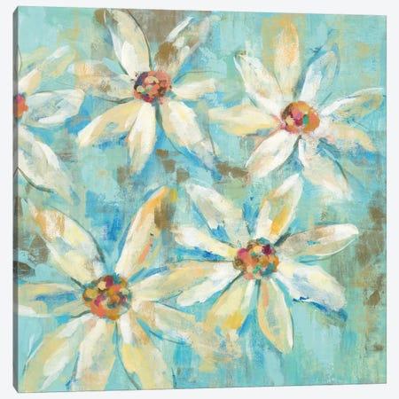 Fjord Floral II 3-Piece Canvas #WAC5408} by Silvia Vassileva Canvas Art