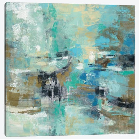 Fjord Reflections Canvas Print #WAC5409} by Silvia Vassileva Canvas Artwork