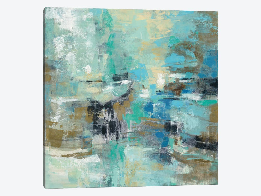Fjord Reflections 1-piece Canvas Artwork