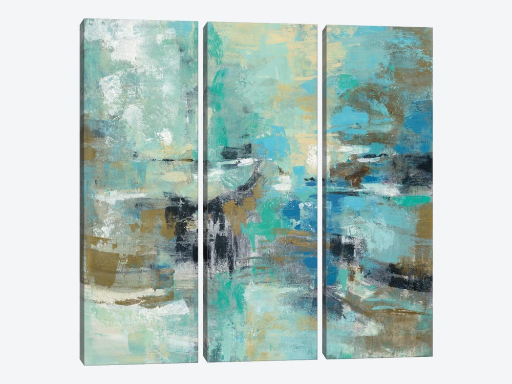 Fjord Reflections 3-piece Canvas Artwork