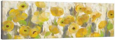 Floating Yellow Flowers I Canvas Art Print