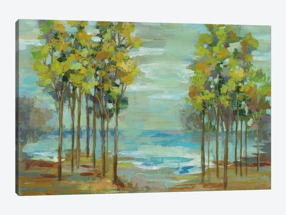 Spring Trees by Silvia Vassileva 1-piece Canvas Art