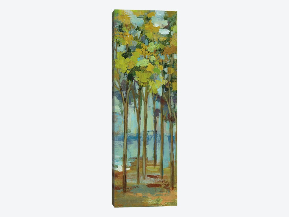 Spring Trees Panel I by Silvia Vassileva 1-piece Canvas Art Print