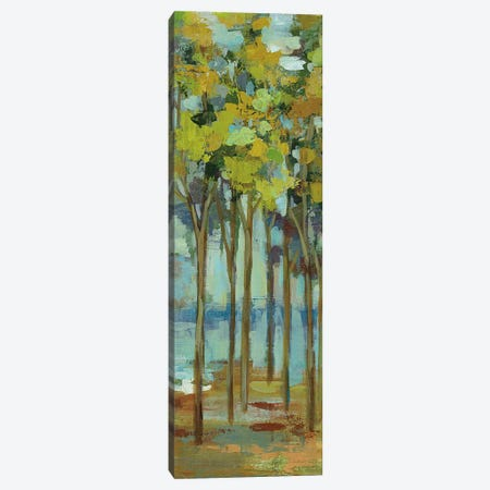 Spring Trees Panel I Canvas Print #WAC5415} by Silvia Vassileva Canvas Artwork
