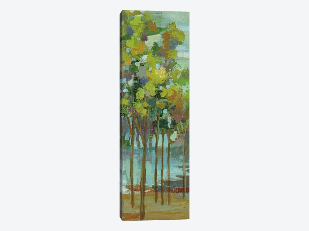Spring Trees Panel II by Silvia Vassileva 1-piece Canvas Artwork
