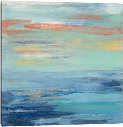 Sunset Beach I Canvas Print #WAC5417