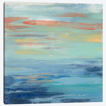Sunset Beach I Canvas Print #WAC5417} by Silvia Vassileva Canvas Art