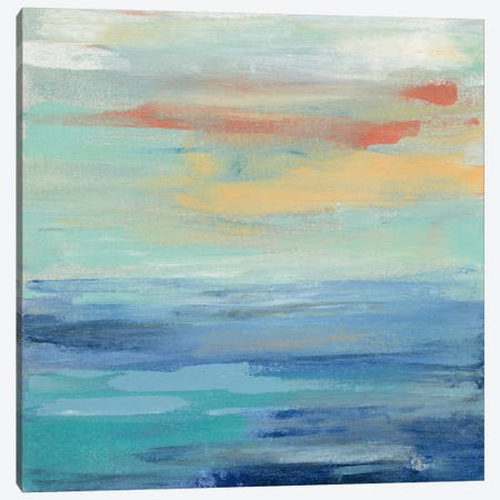 Sunset Beach II Canvas Print #WAC5418} by Silvia Vassileva Canvas Art Print