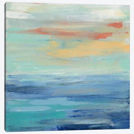 Sunset Beach II Canvas Print #WAC5418} by Silvia Vassileva Canvas Art Print