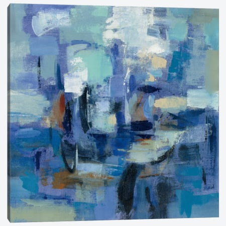 Ultramarine Waves II Canvas Print #WAC5420} by Silvia Vassileva Canvas Artwork