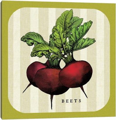 Linen Vegetable I Canvas Art Print