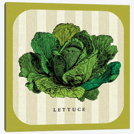 Linen Vegetable II Canvas Print #WAC5426} by Studio Mousseau Canvas Print