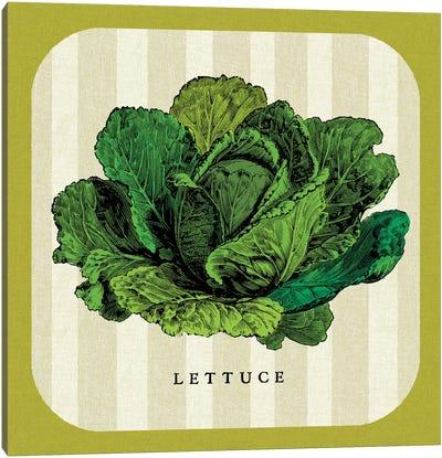 Linen Vegetable II Canvas Art Print